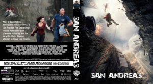 san andreas blu-ray dvd cover
