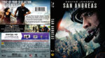San Andreas (2015) R1 Blu-Ray DVD Cover