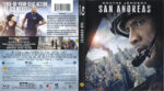 San Andreas (2015) R1 Blu-Ray DVD Cover & Label
