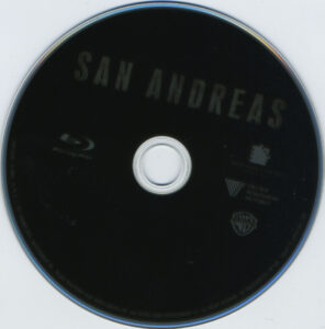 san andreas blu-ray dvd label