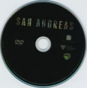 san andreas dvd label