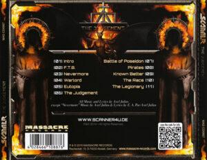 Scanner - The Judgement - Back