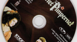 The Scarlet Pimpernel dvd label