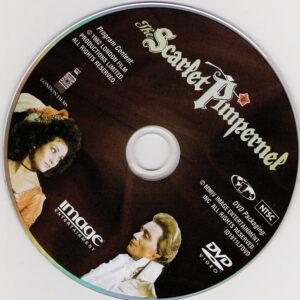 The Scarlet Pimpernel dvd label