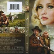 Serena (2014) Blu-Ray DVD Cover & Label