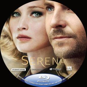 serena blu-ray dvd label