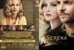 Serena (2014) R0 Custom DVD Cover & Label