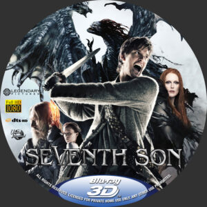 seventh son blu-ray dvd label