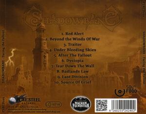 Shadowbane - Facing The Fallout - Back