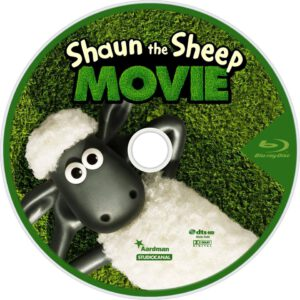 Shaun the Sheep blu-ray dvd cover