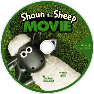 Shaun the Sheep blu-ray dvd cover