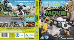 Shaun the Sheep blu-ray cover