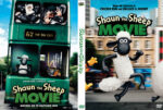 Shaun the Sheep Movie (2015) R0 Custom DVD Cover
