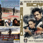 SICARIO (2015) R2 Custom DVD Cover