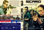 Sicario (2015) R1 Custom DVD Cover