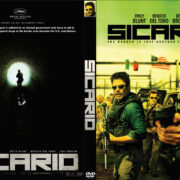 Sicario (2015) R0 Custom DVD Cover