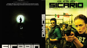 sicario dvd cover
