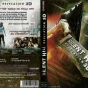 Silent Hill Revelation 3D Blu-Ray German DVD Cover (2012)