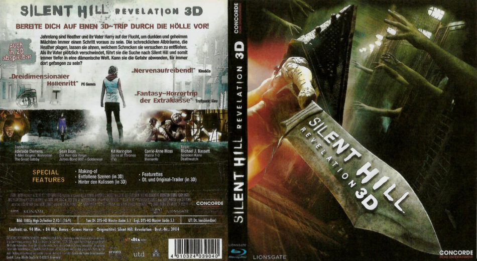 Movie  Silent Hill Revelation 3d that not bored to watched @KoolGadgetz.com