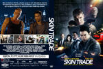 Skin Trade (2015) R0 Custom DVD Cover & Label