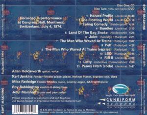 Soft Machine - Switzerland 1974 (Live Montreux 04.07.1974) - Back
