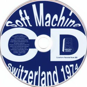 Soft Machine - Switzerland 1974 (Live Montreux 04.07.1974) - CD (1-2)