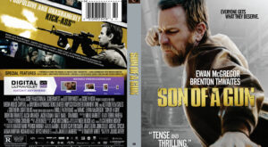 Son of a Gun dvd cover