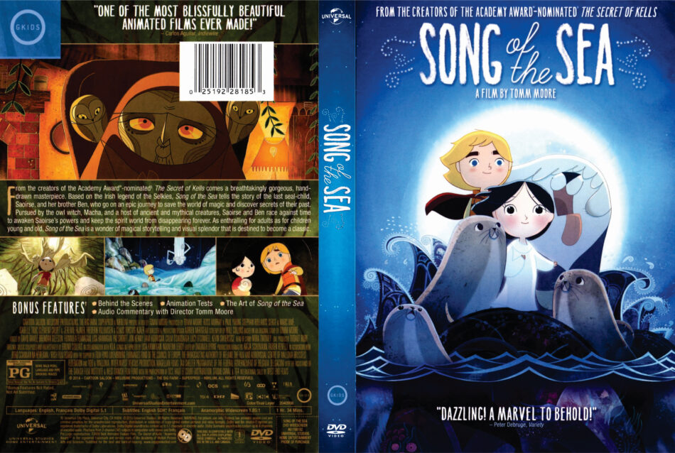 Song of the Sea dvd cover