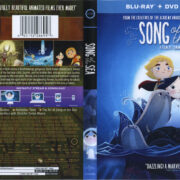 Song Of The Sea (2014) Blu-Ray DVD Cover & Label