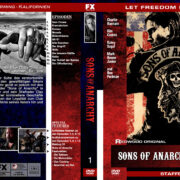 Sons of Anarchy – Staffel 1 (2008) R2 german custom