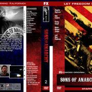 Sons of Anarchy – Staffel 2 (2009) R2 german custom
