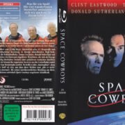 Space Cowboys (2001) Blu-Ray German Cover