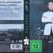Spectre (2015) Custom Blu-Ray Cover German
