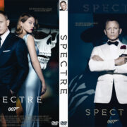 Spectre (2015) Custom DVD Cover