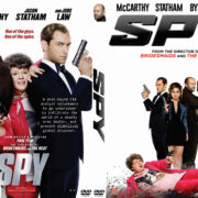 Spy (2015) Custom DVD Cover