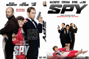 spy dvd cover