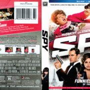 Spy (2015) R1 Blu-Ray DVD Cover