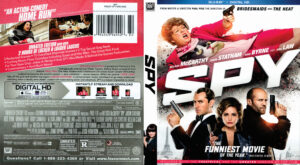 spy blu-ray dvd cover