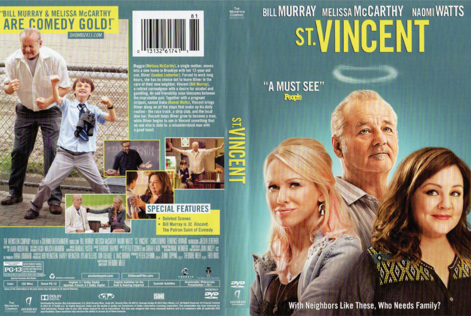 st vincent dvd cover