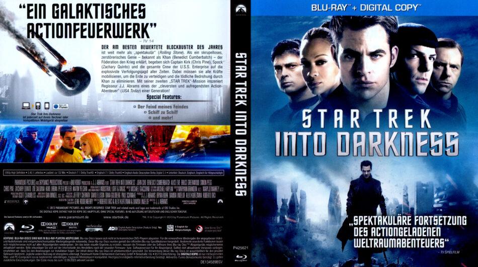 Star Trek Into Darkness Blu Ray Dvd Covers 2013 R2 German