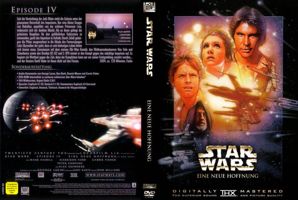 Star Wars Eine Neue Hoffnung Dvd Cover 1996 R2 German