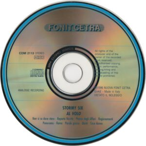 Stormy Six - Al Volo - CD