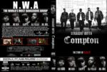 Straight Outta Compton (2015) R1 Custom DVD Cover & Label