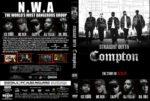 Straight Outta Compton (2015) R1 Custom DVD Cover & Label