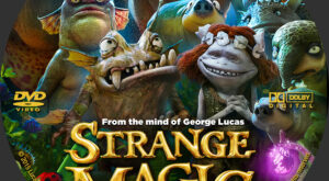 Strange Magic Custom Label
