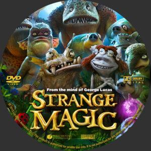 Strange Magic Custom Label