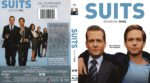 Suits: Season 1 (2012) R1 Blu-Ray DVD Cover
