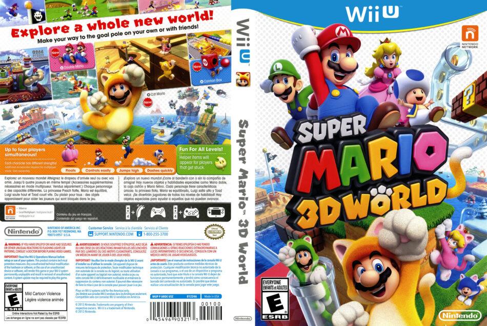 super mario 3d world download code free