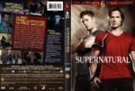 Supernatural: Season 6 (2011) R1 DVD Cover