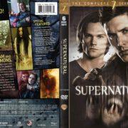 Supernatural: Season 7 (2012) R1 DVD Cover